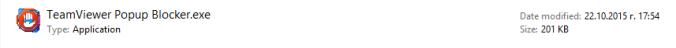 TeamViewerBlocker Icon