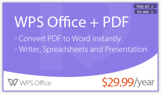 WPS Office Ads